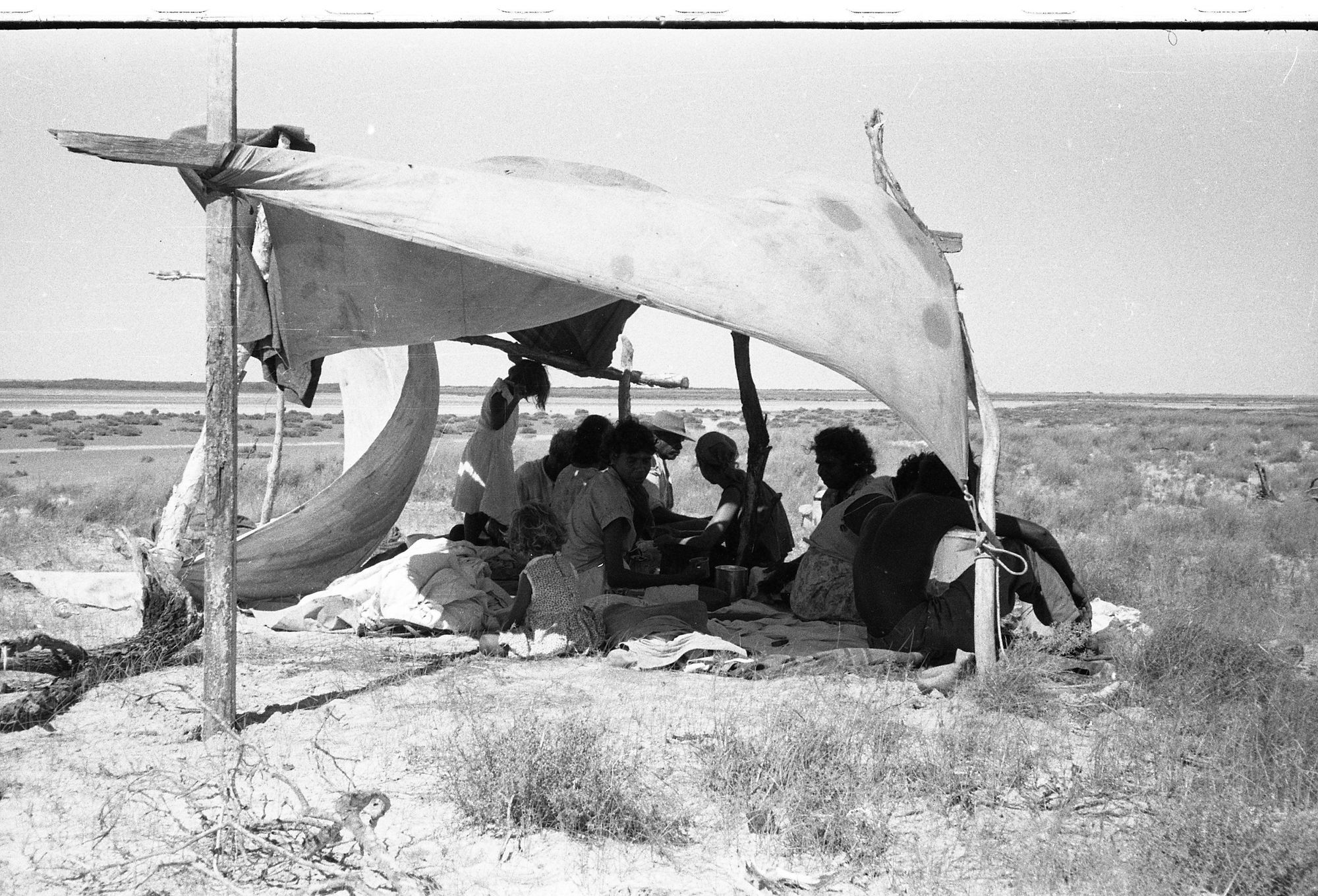 Pearl Shelling Camp photograph